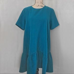 Loft Shift Dress Teal